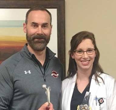 Dr. Jeffrey Schopp and Madison Nott, PA-C in Orthopedics at Phelps Memorial Health Center in Holdrege NE