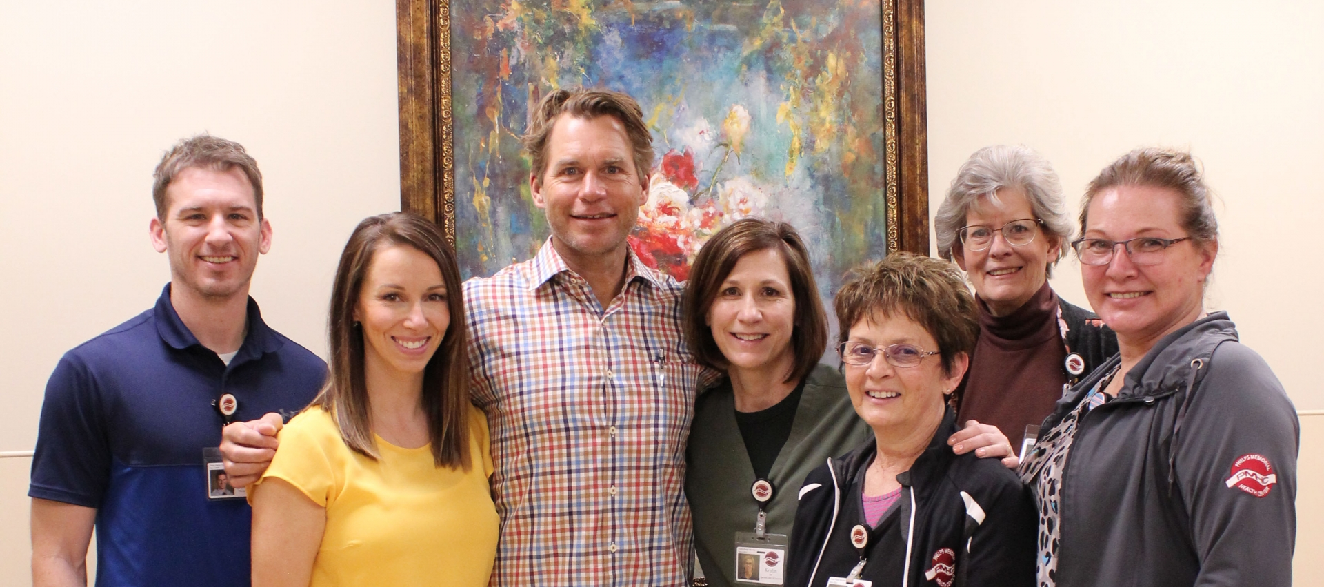 Dr. Andreas Sauerbrey and Phelps Memorial orthopedics clinic team in Holdrege Nebraska