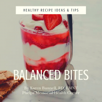 Dietician Karen Bunnell Balanced Bites article and recipe